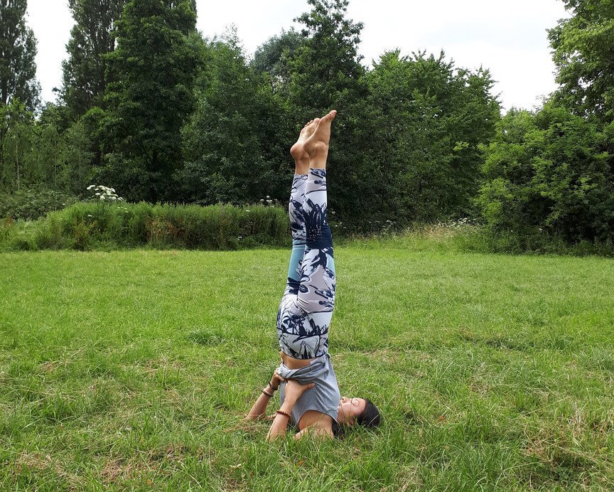 The Shoulderstand - Top 5 Recommended Yoga Poses for the Summer