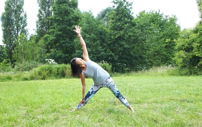 Triangle Pose - Top 5 Recommended Yoga Poses for the Summer