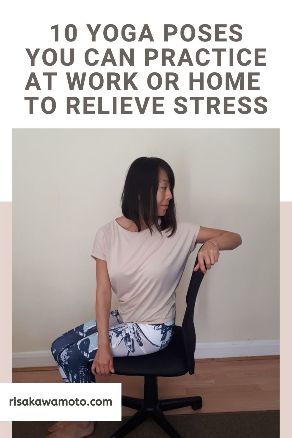 Yoga Poses to Relieve Stress at Work