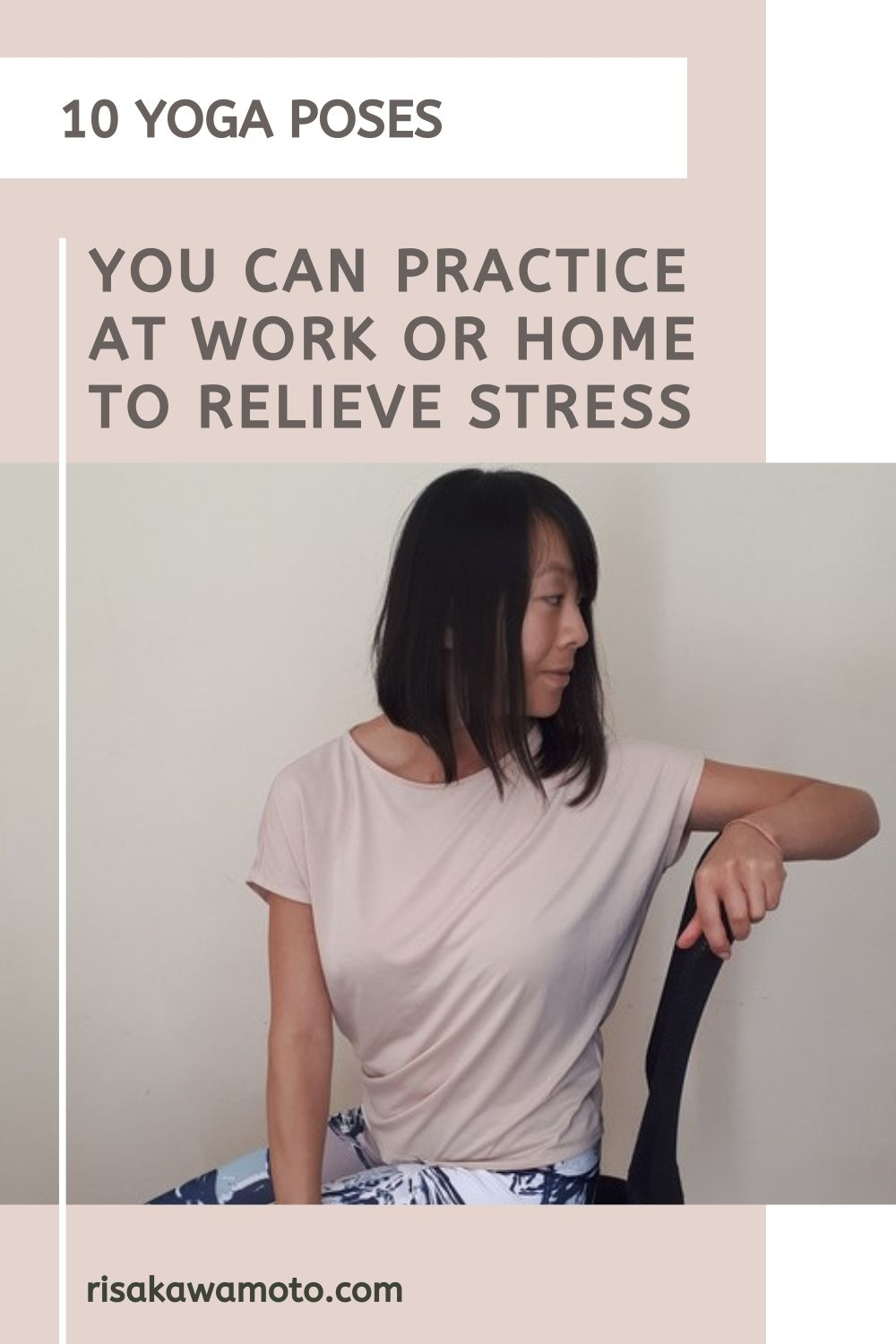 Office Yoga - Yoga Poses to Relieve Stress at Work