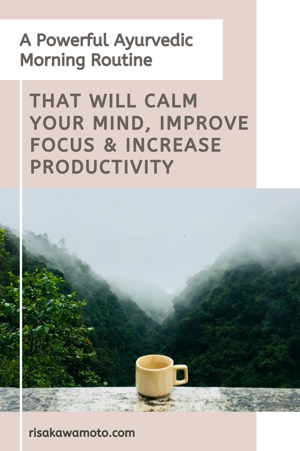A Powerful Morning Routine that will Calm Your Mind Improve Focus & Increase Productivity