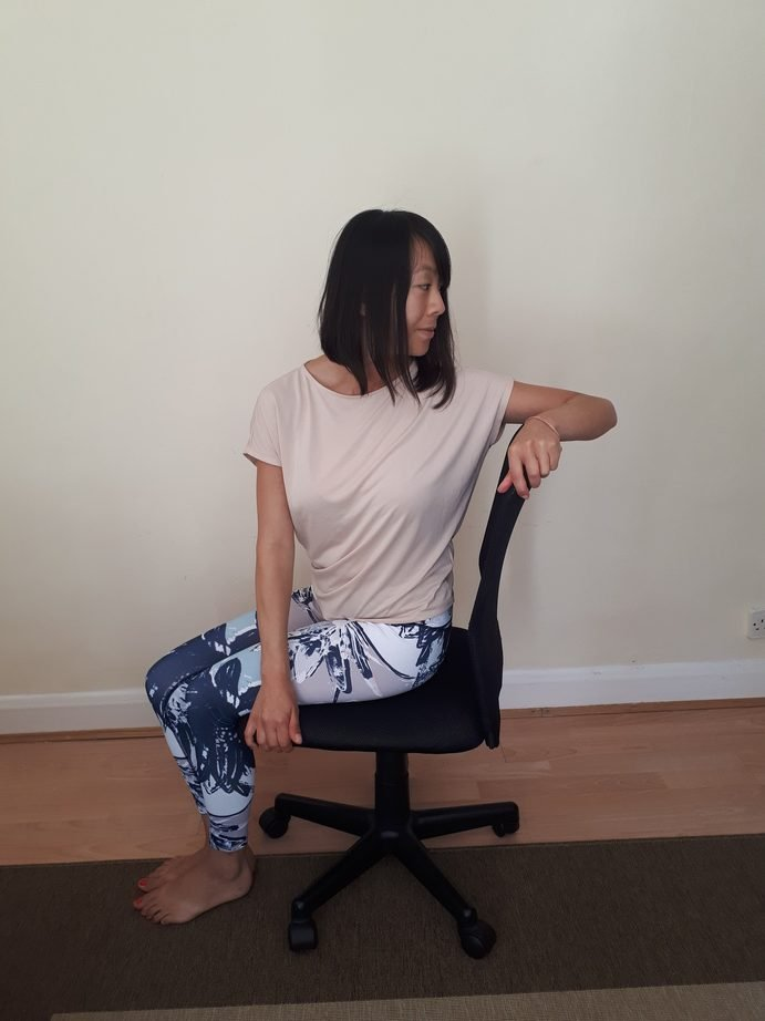 Chair Yoga Seated Twists