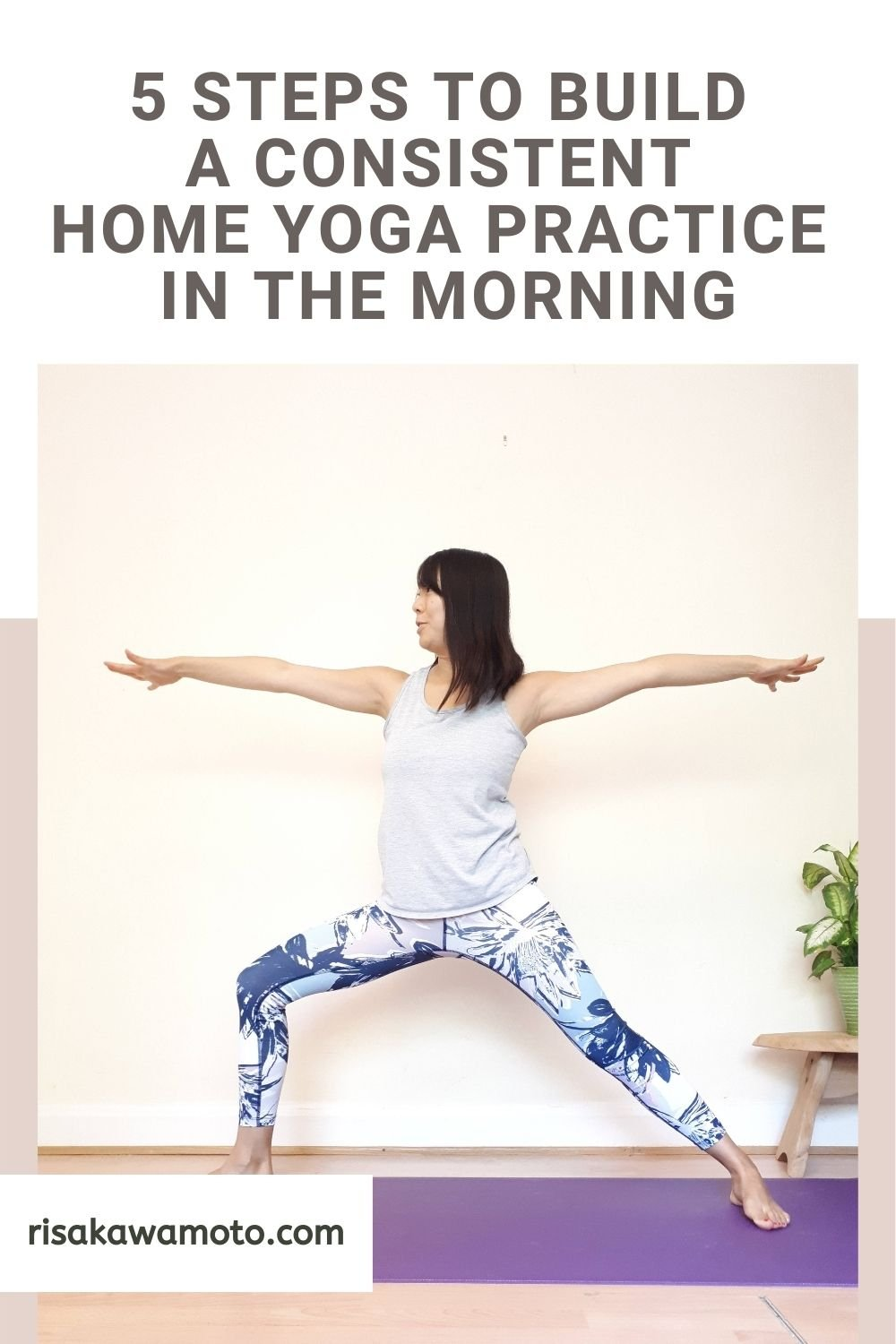 How to Build a Consistent Home Yoga Practice in the Morning